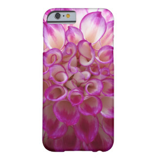 Purple Pink Dalia Flower Barely There iPhone 6 Case