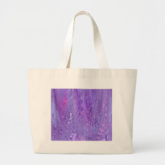 Purple & Pink Flowing Ripple Water Effect Abstract Tote Bags