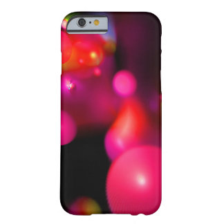 PURPLE PINK FUCHSIA ORANGE QUANTUM BUBBLES BARELY THERE iPhone 6 CASE