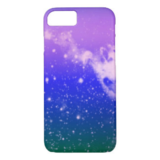 Purple Pink Galaxy iPhone 7 Case