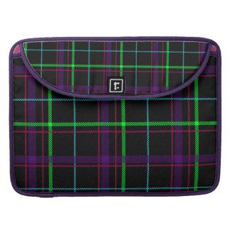 Purple pink green and black tartan sleeves for MacBooks
