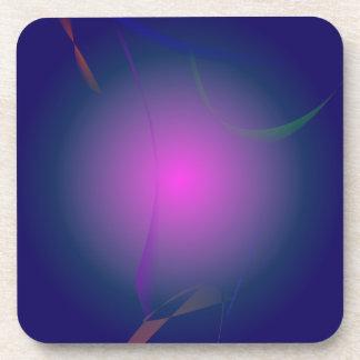 Purple Pink Moon in the Navy Sky Drink Coasters
