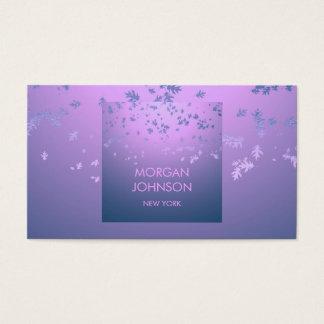 Purple Pink Ombre Blue Confetti Leafs Vip