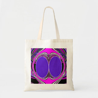 Purple pink superfly design canvas bags