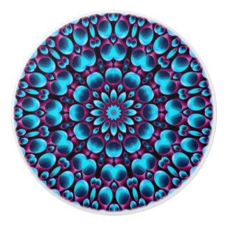 Purple Piper Colorful Ceramic Knob