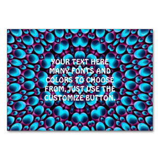 Purple Piper Kaleidoscope   Tablecards Card