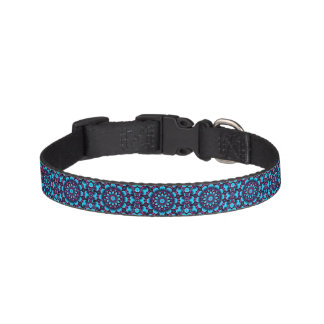 Purple Piper Tiled Colorful Dog Collars