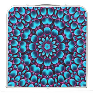 "Purple Piper  Vintage Kaleidoscope 48""  Pong Table"