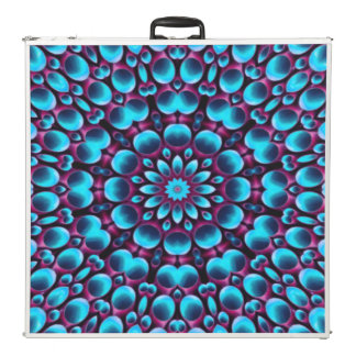 "Purple Piper  Vintage Kaleidoscope  96"" Pong Table"