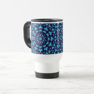 Purple Piper Vintage Kaleidoscope  Travel Mug