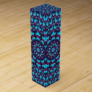 Purple Piper Vintage Kaleidoscope Wine Gift Box