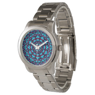 Purple Piper  Vintage  Kaleidoscope   Womens Watch
