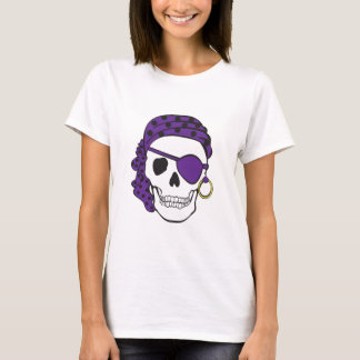 Purple Pirate Skull T-shirt