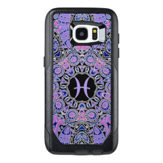 Purple Pisces Mandala OtterBox Samsung Galaxy S7 Edge Case