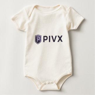 Purple PIVX Shield & Name Baby Bodysuit