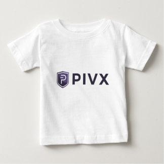 Purple PIVX Shield & Name Baby T-Shirt