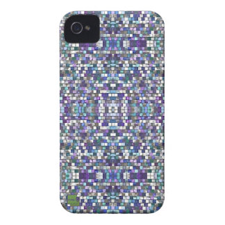 Purple pixel Apple, Android smartphone cases