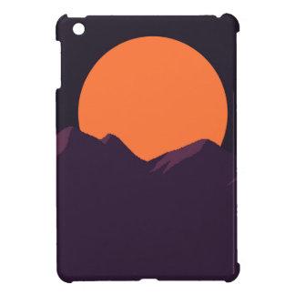 Purple Pixel Sunset Case For The iPad Mini