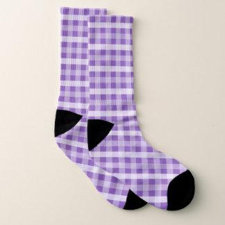 Purple Plaid Patterned 1