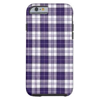 Purple Plaid Tough iPhone 6 Case