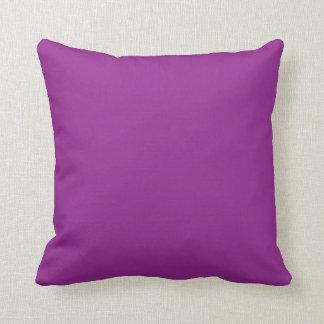 Purple plain beautiful luxury cushion pillow