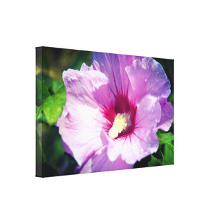 Purple Pleasure Canvas Print