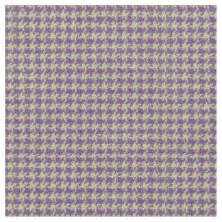 Purple, Plum purple, houndstooth Fabric