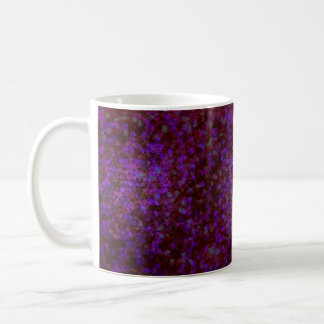 Purple Pointilism Coffee Mug