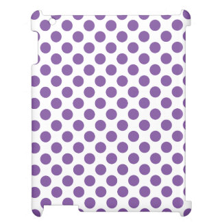 Purple Polka Dots Cover For The iPad 2 3 4
