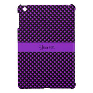 Purple Polka Dots Cover For The iPad Mini