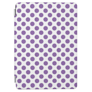 Purple Polka Dots iPad Air Cover