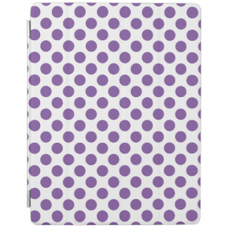 Purple Polka Dots iPad Cover