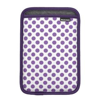 Purple Polka Dots iPad Mini Sleeve