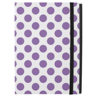 "Purple Polka Dots iPad Pro 12.9"" Case"