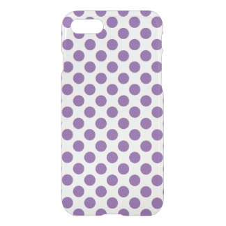 Purple Polka Dots iPhone 8/7 Case