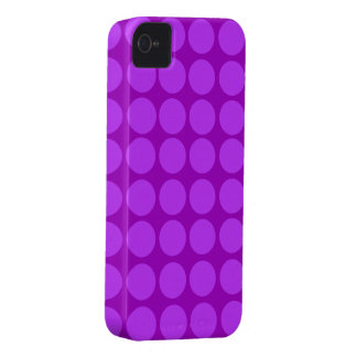 Purple Polka Dots iPhone Case iPhone 4 Covers
