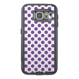 Purple Polka Dots OtterBox Samsung Galaxy S6 Case