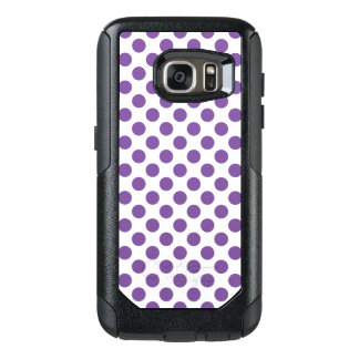 Purple Polka Dots OtterBox Samsung Galaxy S7 Case