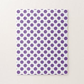 Purple Polka Dots Puzzle