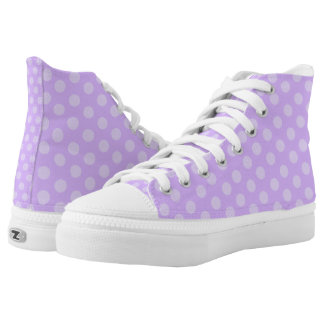 Purple Polka Dots Shoes
