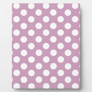 Purple Polka Party Plaque