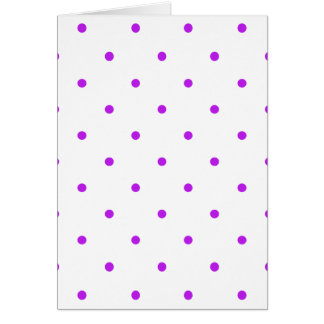 Purple Polkadots Small Card
