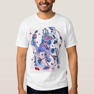Purple poodle tee shirt