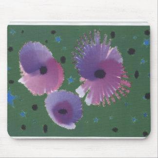 Purple Poppies Mousepad