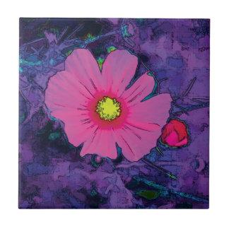 Purple Poppy 1 Tile