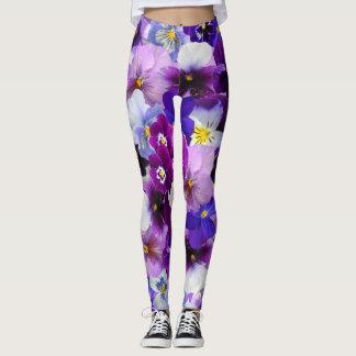 Purple Poppy Power! Leggings