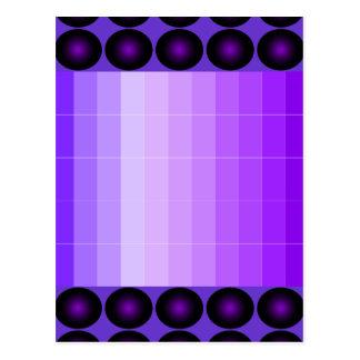Purple Postcard