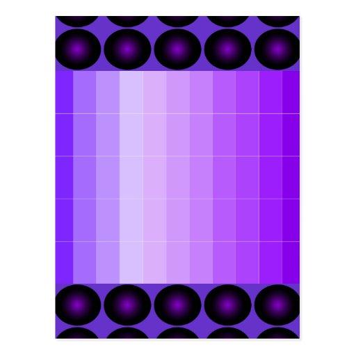 Purple Post Card