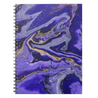 Purple Pour Notebooks