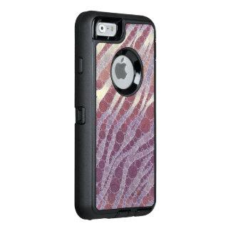 Purple Powder Zebra OtterBox iPhone 6/6s Case